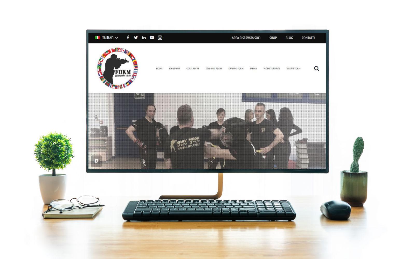 realizzazione sito wordpress fdkmworldwide
