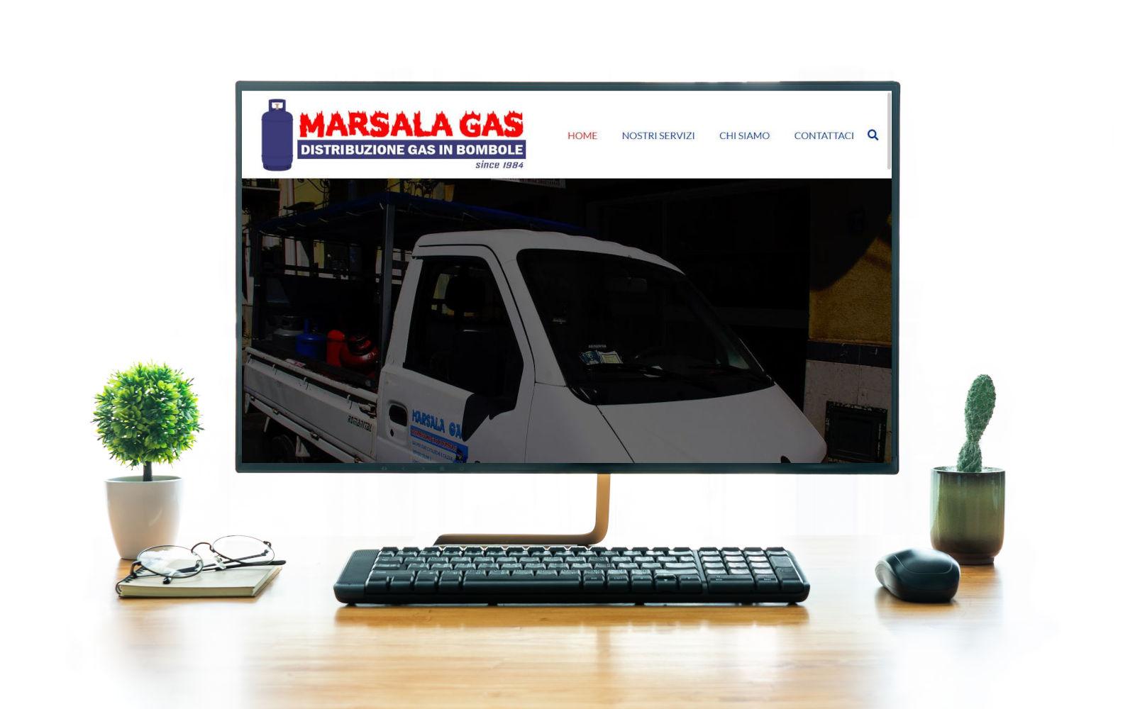 realizzazione sito wordpress marsalagas